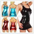 Faux Leather Catsuit Women Dance Costumes Sexy Womens Latex Fetish pvc Fantasias Eroticas Lingerie Products