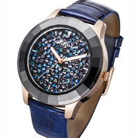 Austria Crystal Fashion Bracelet Watches Luxury Women Watch Miyota Quartz MELISSA Waterproof wrist Watches Relogio Feminino