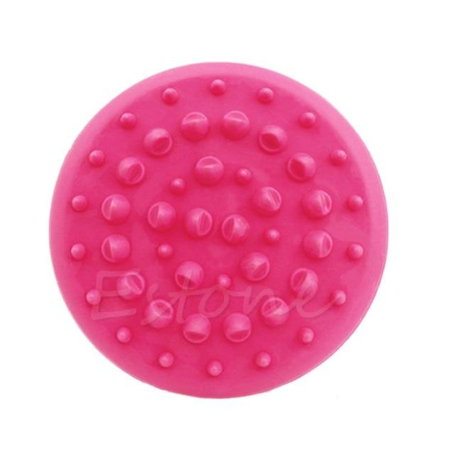 New Handheld Bath Shower Soft Anti Cellulite Full Body Massage Brush Glove Slimming Beauty Relaxing Scrub Massage Bath Spa