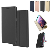 for Samsung Galaxy Note 10 Plus Case PU Leather Flip Stand Cover with Credit Card Slot Shell for Samsung Note 10 Case Luxury цена 2017