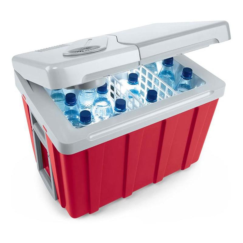 40L Car Fridge Compressor DC 12V 24V Car Refrigerator Freezer Cooler for Car Home Picnic Refrigeration Freezer -19~10 Degrees
