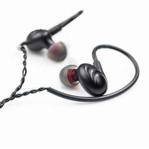 Image 4 - FiiO auriculares F9 SE F9se, con carcasa de Metal, Triple controlador, HIFI dinámico híbrido, 1 controlador dinámico y 2 armaduras equilibradas, enchufe de 3,5mm