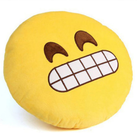 30cm Cute Creative Smile emoji Pillow Cushion Various Cartoon Facial Expression Birthday Gift Home Decor Sofa Bed Throw Pillow