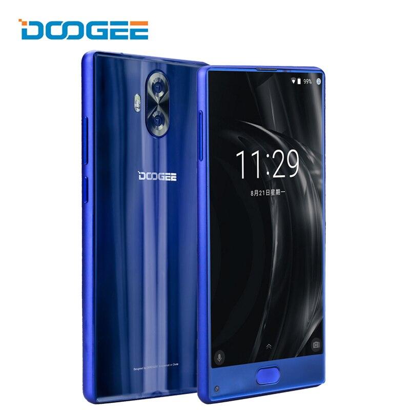 DOOGEE Mix Lite 4G Smartphone Touch Android 7.0 MTK6737 Quad Core 2G+16G 13MP Fingerprint Celular 5.2 Inch Mobile Phone 3080mAh