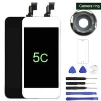 100% NIEUWE LCD zwart-wit Voor iphone 5c Lcd-scherm met Touch Screen Digitizer Vervanging Vergadering