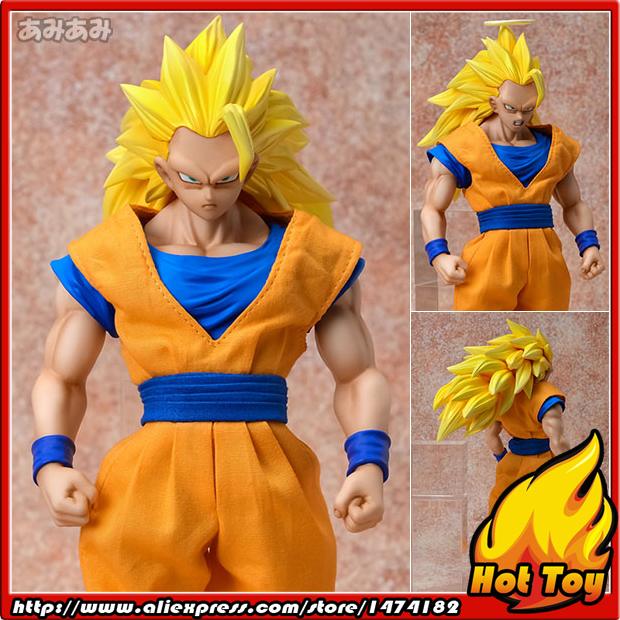100% Original MegaHouse Dimension of DRAGONBALL D.O.D Complete Action Figure - Super Saiyan 3 Son Goku from Dragon Ball Z