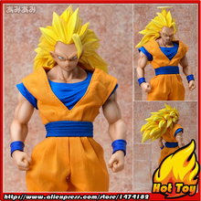 "100% Original MegaHouse Dimension of DRAGONBALL D.O.D Complete Action Figure – Super Saiyan 3 Son Goku from ""Dragon Ball Z"""