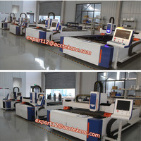 fiber 500w carbon steel fiber laser cutting machine/ipg fiber laser/raycus 300w fiber laser metal cutter