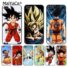 Maiyaca Dragonball Dragon Ball Z Sagas Kid Goku Coque Telefoon Case Voor Iphone 11 Pro Xr Xs Max 8 7 6 6S Plus X 5 5S Se(China)