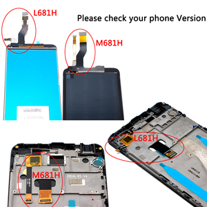 Image 5 - 5.5 inch For Meizu M3 note M681H LCD Display+ Touch Screen Digitizer Assembly With Frame Replacement Parts with Free Shipping