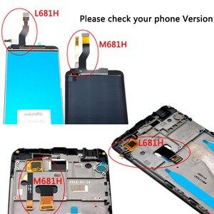 Image 5 - 5,5 zoll Für Meizu M3 hinweis M681H LCD Display + Touch Screen Digitizer Montage Mit Rahmen Ersatz Teile mit Freies verschiffen