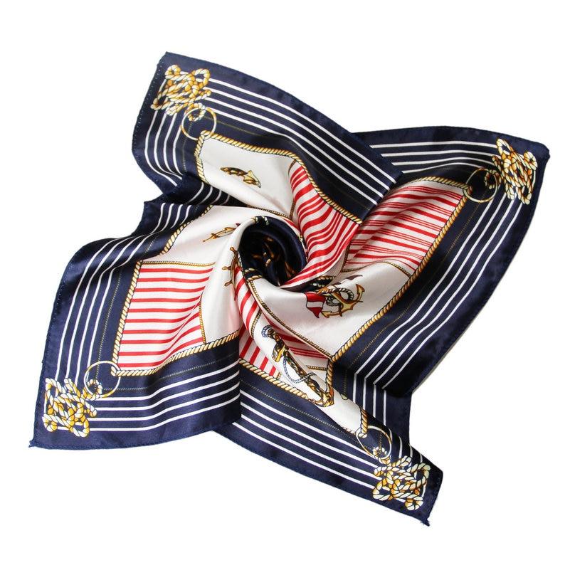 Šátek na kancelářské výstřihDámské pracovní oděvy Šátky Foulard móda Ženy šátek Kancelářská Lady Dárková NeckerChief Casual hedvábná šála 50cm