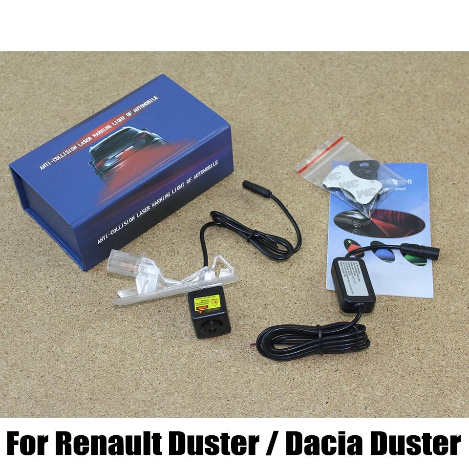 Car Anti Crash Warning Lights For Renault Duster For Dacia Duster 2009 2015 Fog Snow Rain
