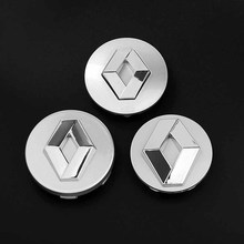 1pcs Renault 54mm 57mm Wheel Center Hub Caps Clio Megane Laguna Scenic wheel Badge covers Auto accessories