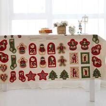 Weihnachten Baumwolle Leinen für DIY Puppe Weihnachtsdekoration Stoffe meter für Nähen Patchwork Tilda, Tissue, DIY Textil
