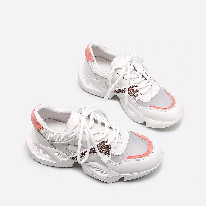 Cuir Hautes En Sneakers Femmes Chaussures Feminino Espadrilles Bleu Ugi Véritable Course Pour Papa Plein Tenis Harajuku Plateforme rose 2019 De Air BqX8WWpw