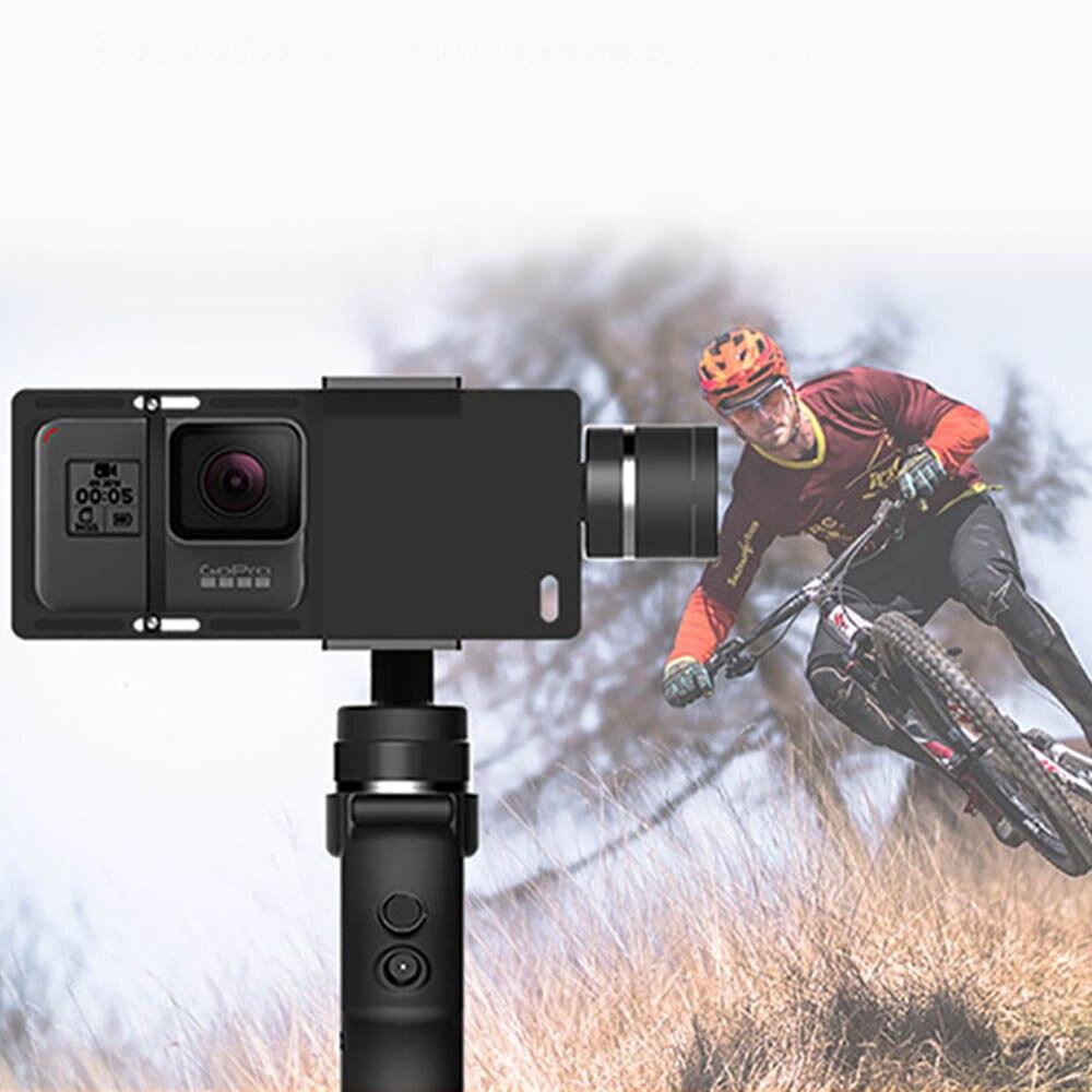 Cardan de stabilisateur cinématographique tenu dans la main de 3 axes avec la batterie pour le Smartphone - 5