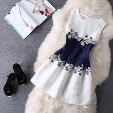 Women Summer Bodycon Vest Dress Vintage Printed Sexy Party Vestido De Festa Female Clothing A Line Black Casual Dresses