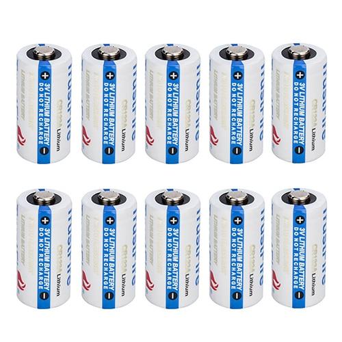 Batterie Li-ion Non Rechargeable 20x TrustFire CR123A 1400 mAh batterie 3.0 V