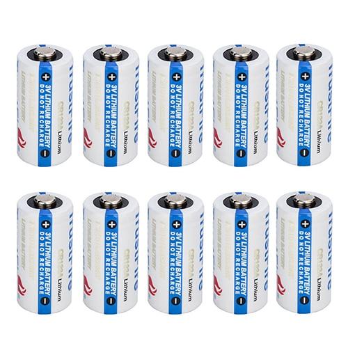20x TrustFire <font><b>CR123A</b></font> 1400mAh <font><b>Battery</b></font> 3.0V Non-Rechargeable Li-ion <font><b>Battery</b></font>
