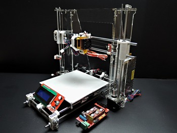 [SINTRON]High Accuracy DIY 3D Printer Kit for Reprap Prusa i3,MK3 heatbed,LCD 2004,MK8 extruder,Official prototype,Free shipping