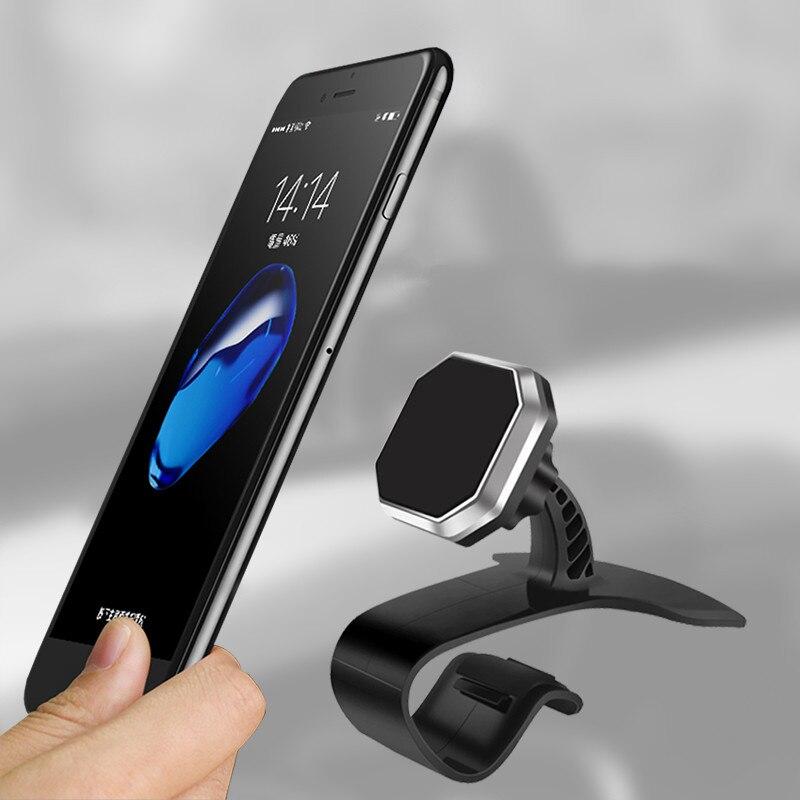 Universal Car <font><b>Phone</b></font> <font><b>Holder</b></font> 360 Degree Adjustable <font><b>Magnetic</b></font> Car <font><b>Holder</b></font> <font><b>Mobile</b></font> <font><b>Phone</b></font> Mount <font><b>Holder</b></font> Stand For iPhone 6 7 8 Samsung