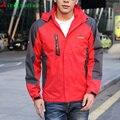 Moda hombres chaqueta 2017 primavera otoño caliente venta jaqueta entrenador clothing coat para hombres chaquetas impermeables a prueba de viento de montaña