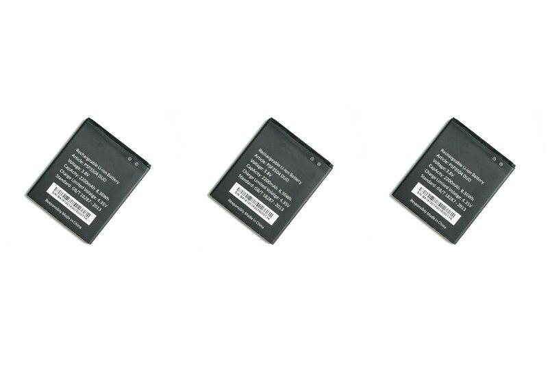 Nueva 3 unids/lote 2200 mAh/8.36Wh PSP3504 batería de repuesto para prestigio muze C3 3504 PSP3504 Duo PSP3504Duo + seguimiento código