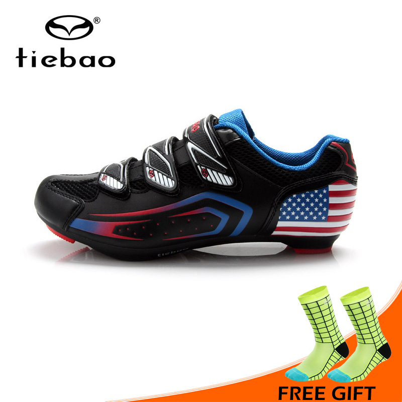 Tiebao Outdoor Sport Cycling Shoes Self-lock Road Bicycle Bike Shoes Breathable Athletic Bike Shoes zapatillas ciclismoTiebao Outdoor Sport Cycling Shoes Self-lock Road Bicycle Bike Shoes Breathable Athletic Bike Shoes zapatillas ciclismo