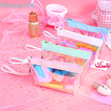 Laser Translucent Storage Bag Large-capacity Multi-functional Simple Cosmetic Household Products