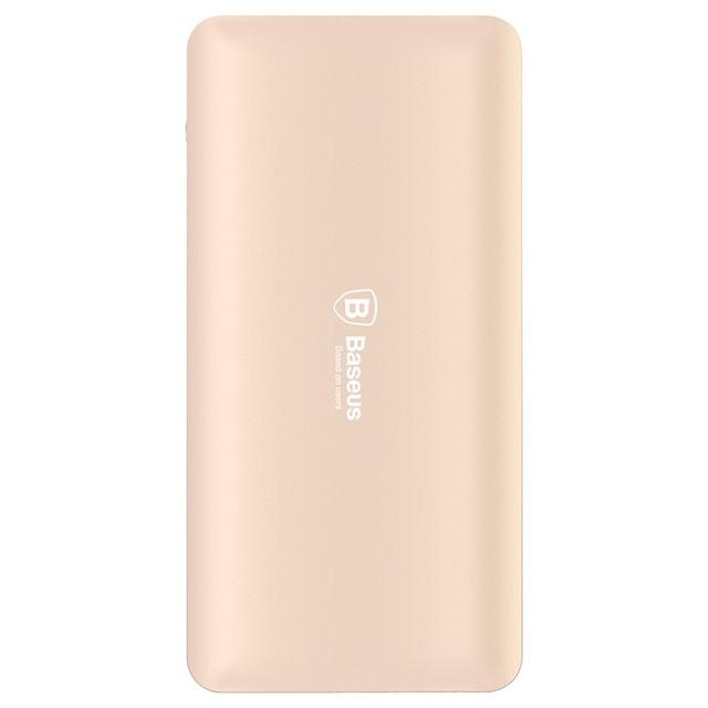 Baseus 10000 mah banco portable de la energía banco de la energía dual usb para apple iphone ipad otros teléfonos inteligentes para xiaomi banco de potencia shell