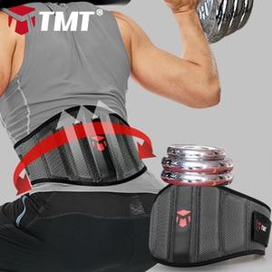 Image 5 - TMT podnoszenie ciężarów pas wspierający pasy pasowe do siłowni ciężary Fitness trójbój siłowy hantle treningowe podparcie pleców lędźwiowych