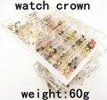 Оптовая 60 г/компл. высокое качество часы для части-головка вахты часы корона-122101