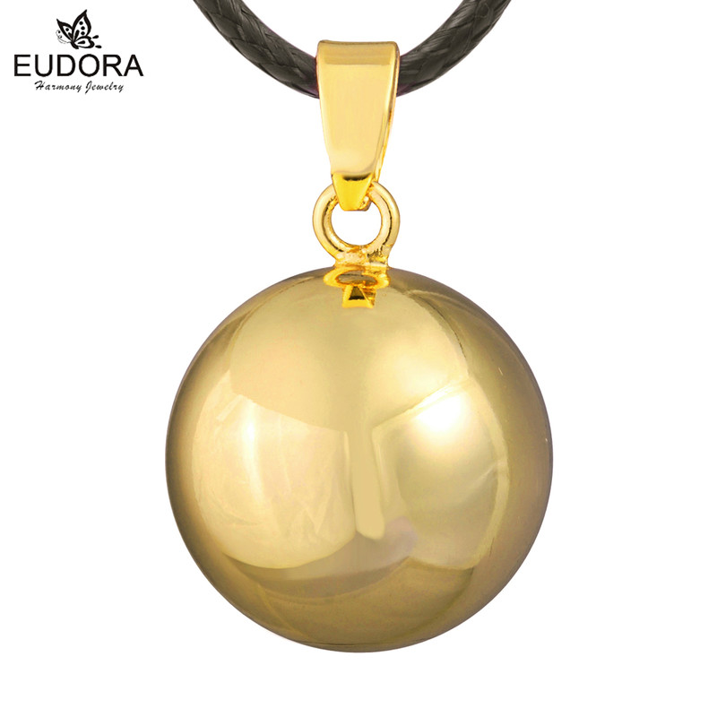 Gold Chime Bell Belly Necklace Harmony Bola Pendant Bijoux Maternity Ball Dance Musical Bell Pregnancy Ball Mexico Bola