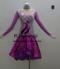 KAKA-L1503,Women Dance Wear,Girls Fringe Latin Dress,Salsa Dress Tango Samba Rumba Chacha Dress,women dress