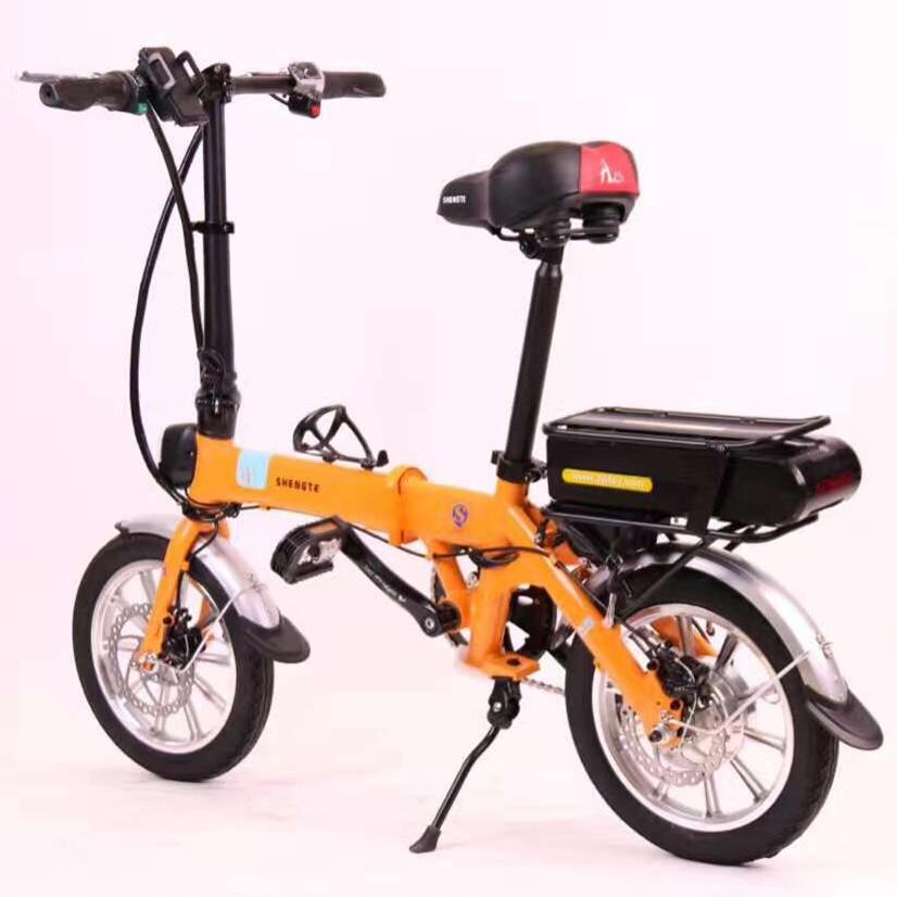 buy 2017 14inch foldable electric bicycle mini cycling 350w 48v 13a e bike from. Black Bedroom Furniture Sets. Home Design Ideas
