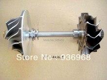 K27 Турбинного колеса 64 мм * 76.1 мм, Comp колеса 56.8 мм * 86.9 мм, K27 Турбо частей ротора в сборе поставщик AAA Частей Турбокомпрессора