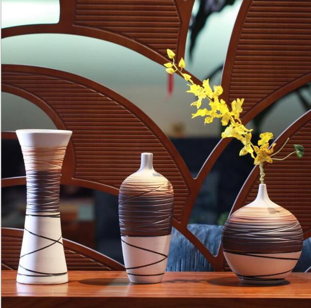 Chinese Vase Ceramic Vases Ornaments Decorative Arts And Crafts