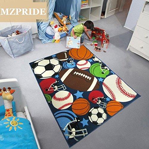 Balls Print Kids Rugs Cartoon Balls Boys Bedroom Football Carpet 39   54. Popular Boys Room Rugs Buy Cheap Boys Room Rugs lots from China