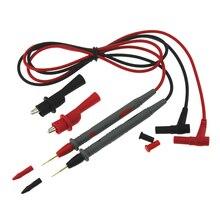 1 paar Sharp 10A Amperemeter Test Kabel Multimeter Multi Meter Voltmeter Blei Sonde Draht Stift C Bleistift Linie mit Alligator clip