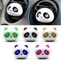 Car styling ambientador 1 Unidades coche de ventilación de aire acondicionado perfume perfume panda ojos saltarán 5 colores # hp