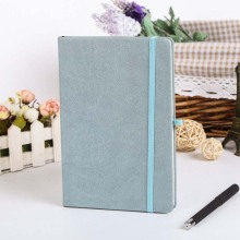 Hard Cover Dotted Candy Color A5 Leatherette Notebook Elastic Band Creative Bullet Journal Bujo