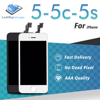 LCD For IPhone 5C 5S 5 LCD Display Full Screen Touch Glass Digitizer Assembly Replacement Without
