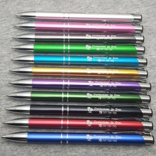 Metal-Pens Engraved Company-Logo Gift Customized New-Design Laser with And Web-Url Contacts