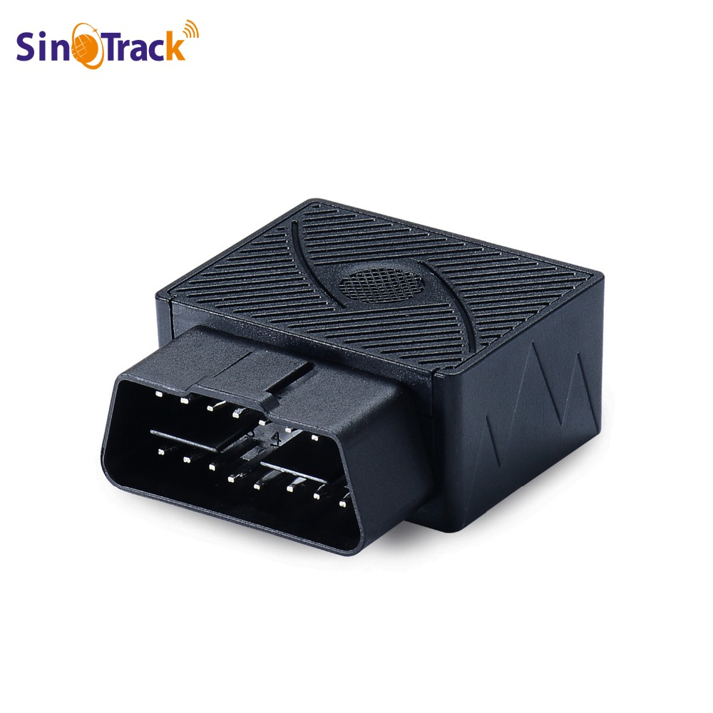 Mini Plug Gioca OBD Inseguitore Dei GPS GSM Auto OBDII Vehicle Tracking dispositivo OBD2 16 PIN interfaccia cina localizzatore gps con Software e APP