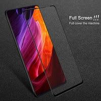 Para Xiaomi Mimix3 de Mi mezcla 3 IMAK de vidrio templado Protector de pantalla completa para Xiaomi Mi Mix 3 versión Pro Xiaomi Mix3