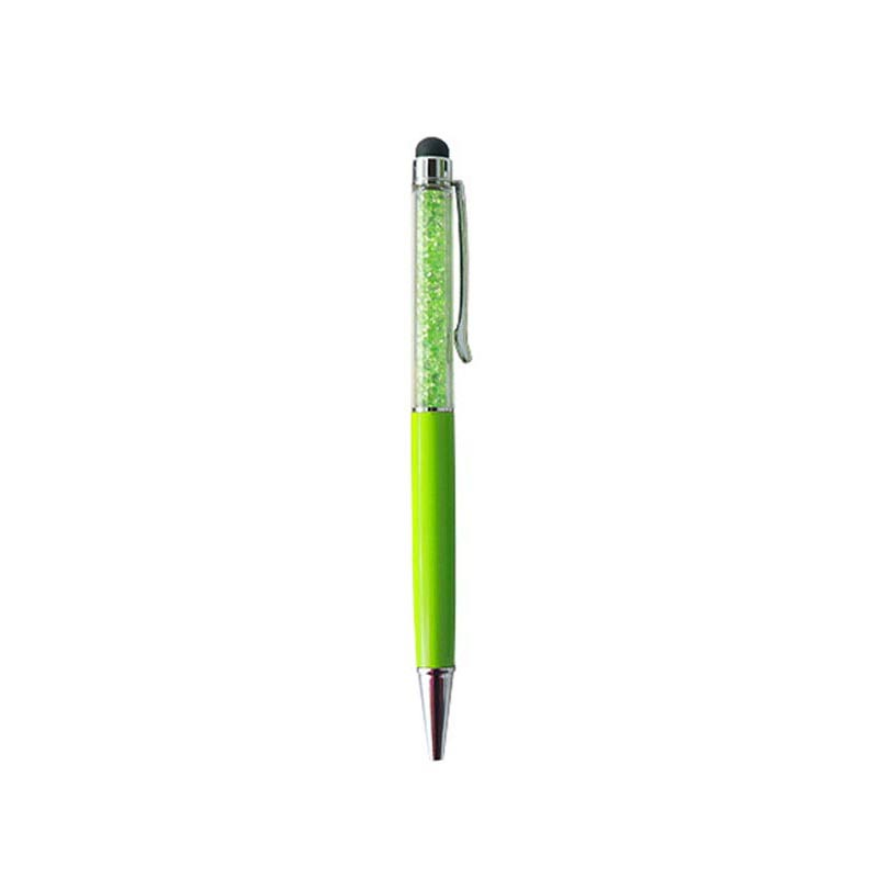 2 in 1 Capacitive Touch Stylus Pen with Gel ink Ballpoint Pen for Smart Android Phone Tablet PC, for Xiaomi Huawei for iPhone