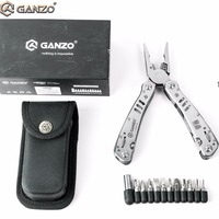 Ganzo G302H G302 H Motor Multi Pliers Tool Kit Nylon Pouch Nice Combination Stainless Steel