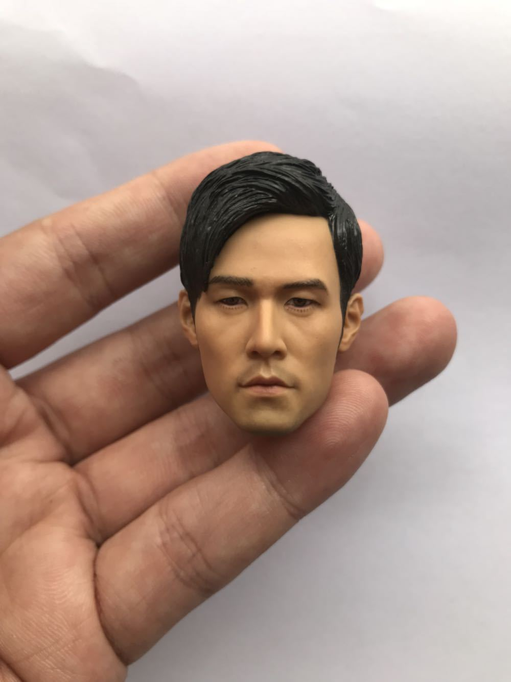 "1:6 Scale Asian Celebrity Singer Head Sculpt Jay Chou For 12/"" Male Toys Action"