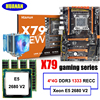 New Arrival HUANAN DELUXE X79 LGA2011 Gaming Motherboard Set Xeon E5 2680 V2 RAM 16G 4